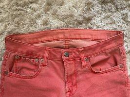 Helmut Lang Jeans elasticizzati rosso chiaro