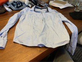 H&M Camisa de manga larga azul celeste