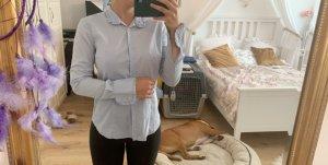 Calliope Camicia a maniche lunghe azzurro