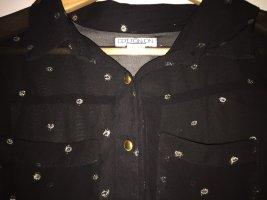 Cotton On Camicia a maniche lunghe nero-oro