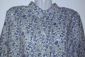 Hemd Bluse mit Blumenmuster