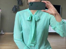 American Apparel Long Sleeve Shirt turquoise