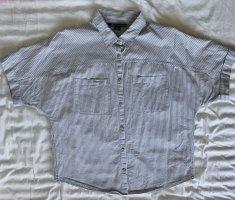 Armani Exchange Shirt Blouse light grey-white