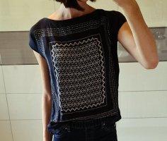 Hemdbluse shirt lala tuchmuster Signatur print Nachhaltig street style blusenshirt boho