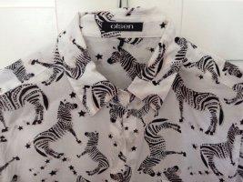 Olsen Collection Camisa de manga larga multicolor