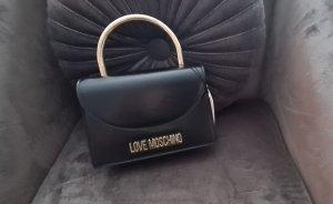 Love Moschino Handbag black-gold-colored