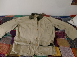 Henry Cotton's Safari Jacket oatmeal-olive green cotton