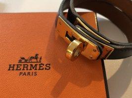 Hermès Armband - Kelly Double Tour - in schwarz