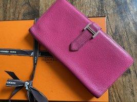 Hermès Portemonnee roze