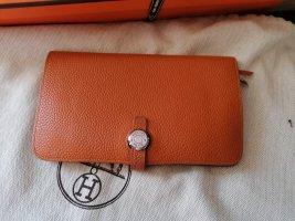 Hermès Portefeuille orange