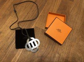 Hermès Collana bronzo-marrone-grigio