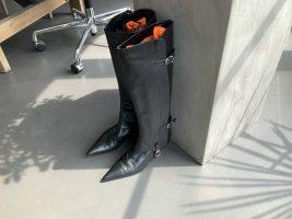Hermès Heel Boots black