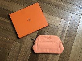 Hermès Makeup Bag light orange