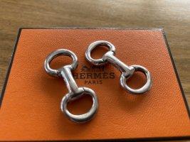 Hermes Manschettenknöpfe Silber