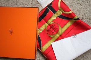 Hermès Halsdoek veelkleurig Zijde