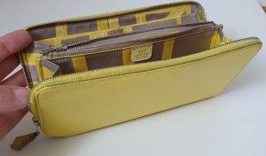 Hermès Wallet light grey-yellow