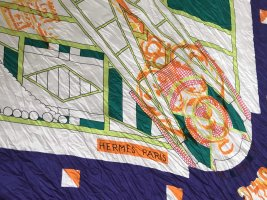 Hermès Silk Scarf multicolored
