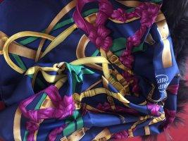 Hermès Zijden doek blauw
