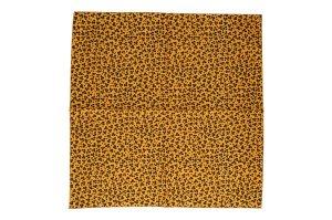 Hermès Tuch Serviette aus Baumwolle mit Leoparden Motiv Druck