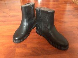 Jomos Laarzen met bont donkerbruin-zwart bruin