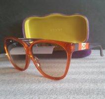 Hervorragende Gucci Brille mit Samt Brillenetui