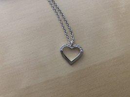 Swarovski Zilveren ketting zilver