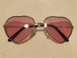 Retro Glasses gold-colored-pink