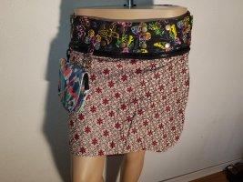 Wraparound Skirt multicolored cotton