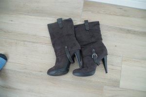 High Heel Boots dark grey