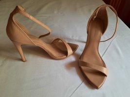 Zara High Heels nude