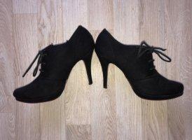 Deichmann Chaussure à talons carrés noir