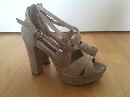 High Heels beige in Gr. 37