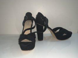 Anna Field Tacones altos negro-nude