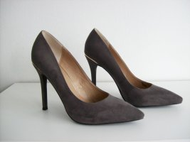 Cafènoir High Heels dark grey leather