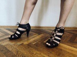H&M Sandalias de tacón alto negro