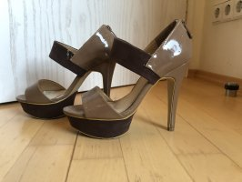 High Heels, Lack und Nubuk