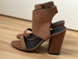High heels || Riemchen || Gr. 38