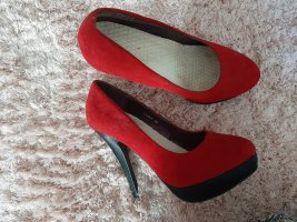 High Heels rot & schwarz