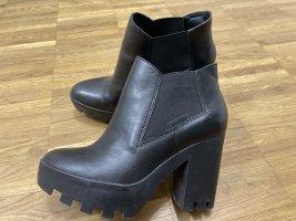 Calvin Klein Jeans Wysokie buty na obcasie czarny