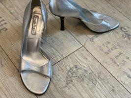 High Heels von Cesare Paciotti Gr. 37 in Silber