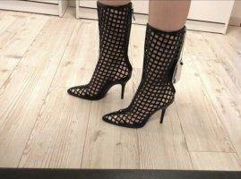 Zara High Heel Boots black