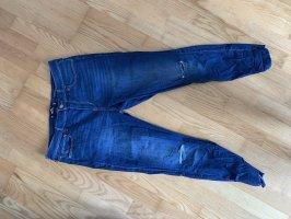 High-Rise Jeans crop super skinny 15R