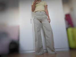 high rise wide jeans vintage look