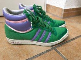 Adidas High Top Sneaker multicolored cotton