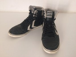 Hummel High Top Sneaker black mixture fibre