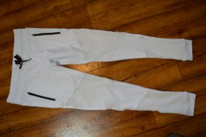 High Waist Fashionnova Sporthose weiss Gr. 38