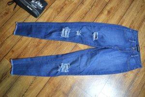 High Waist Jeans mit Cut 34 Fashion Nova