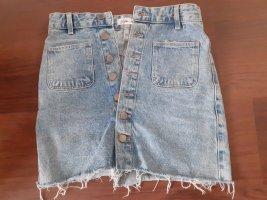 High Waist Jeans Rock von ZARA