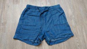 High Waist Jeans Shorts Hotpants 36 blau New Yorker
