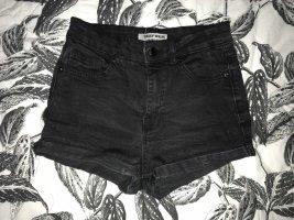 High Waist Jeans Shorts schwarz Tallly Weijl